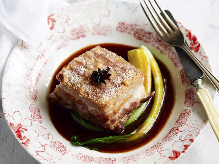 Hoisin Pork Belly with Salted Crackling Recipe