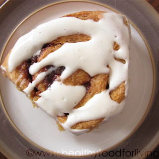 Carrot Cake Cinnamon Rolls with Cream Cheese Glaze