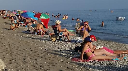 Las playas del litoral ejidense, en una imagen de archivo.