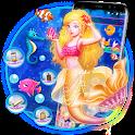 Beautiful Glamorous Mermaid Theme icon