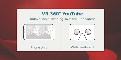 3DDtube - VR 360° YouTube 1.0 screenshots 3