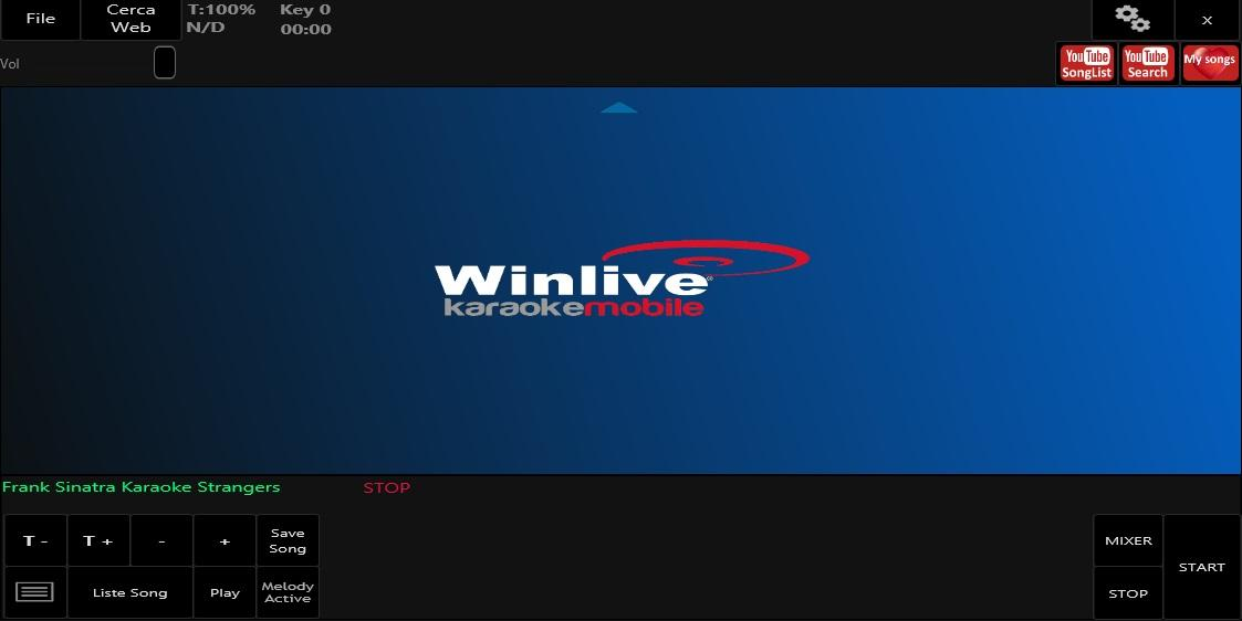 Winlive Mobile Karaoke- screenshot