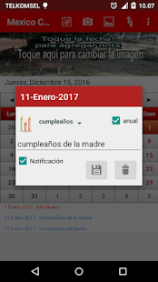 Mexico Calendario 2017- screenshot thumbnail