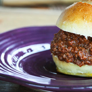 Slow Cooker Sloppy Joes | Make Ahead Mondays
