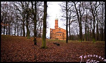 Photo: Ev. Kirche St. Peter und Paul auf Nikolskoe bei Potsdam / Berlin an der Havel
