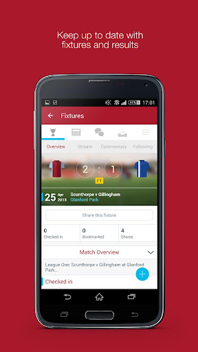 Fan App for Scunthorpe United