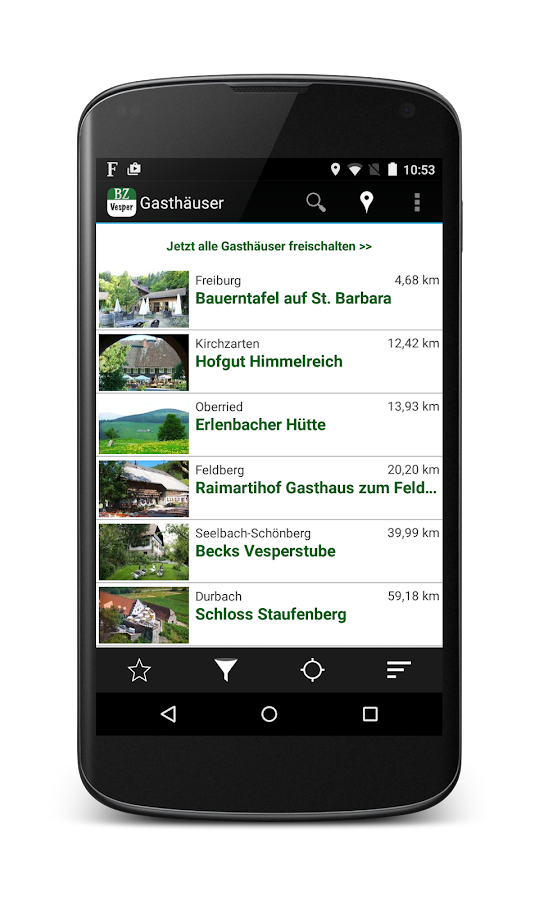 BZ Vesper-App- screenshot