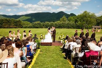 Photo: Wedding on The Dillard House grounds