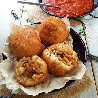Mushroom Arancini Recipe