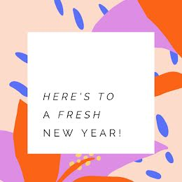 A Fresh New Year - New Year's item
