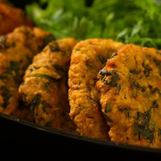 Lentil And Vegetable Fritters.