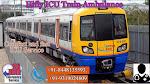 Full Medilca Support Train Ambulance Service in Durgapur By Hifly ICU