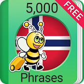 Learn Norwegian 5,000 Phrases