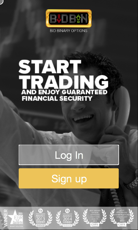Bid Binary Options- screenshot