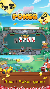 Free Poker Toon  Texas Online Card Game 1