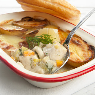 Winter Warming Potato & Fish Pie -Skinny.