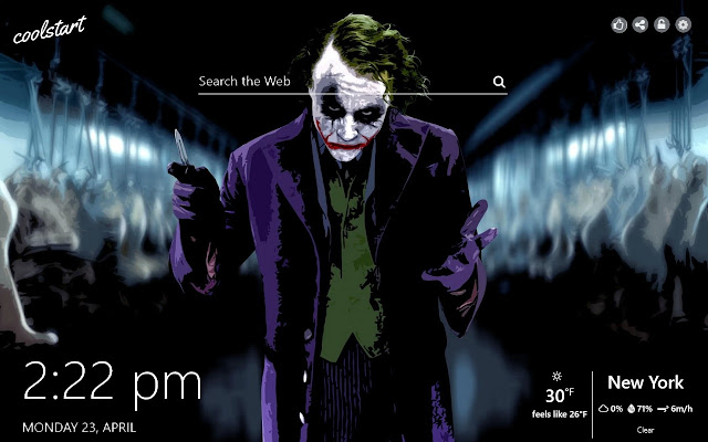 Joker HD Wallpapers Batman New Tab Theme