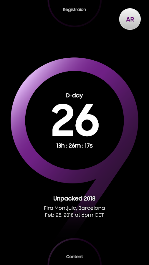 UNPACKED 2018- screenshot