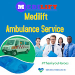 Now Quick Ambulance Service in Hajipur, Patna by Medilift