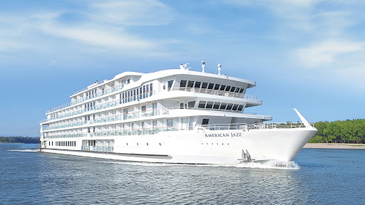 The 190-passenger American Jazz debuted in March 2021 with sailings along the Lower Mississippi.