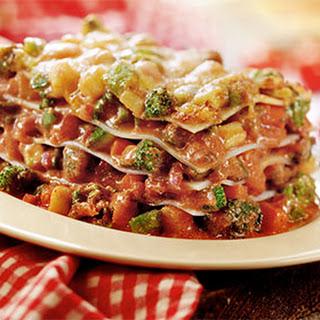 Lasagne Met Groenteratatouille En 3 Kazen
