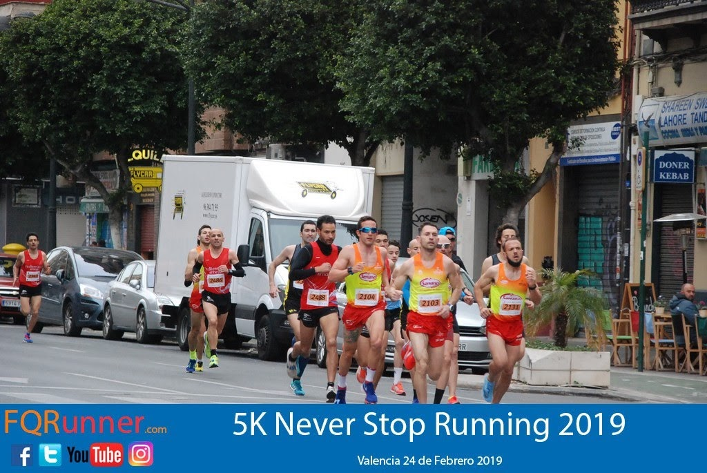 Fotos carrera 5K Never Stop Running 2019