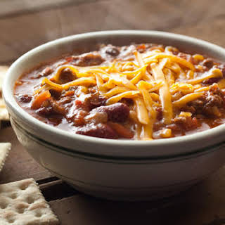 Easy Slow Cooker Chili.