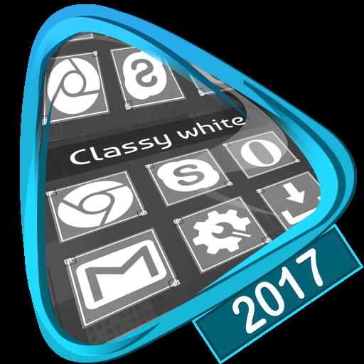 Classy white Launcher 2017