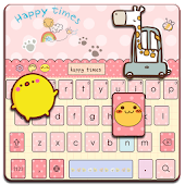 Pinky Kitty keyboard