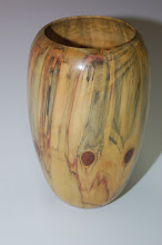 "Photo: Eliot Feldman - Vase - norfolk island pine - 7"" x 4.5"""