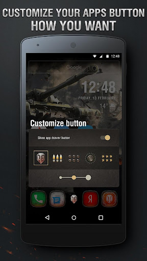 World of Tanks Theme - screenshot