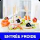Download Entrée froide avec calories recettes en français. For PC Windows and Mac