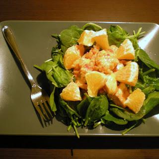 15 Orange chicken salad