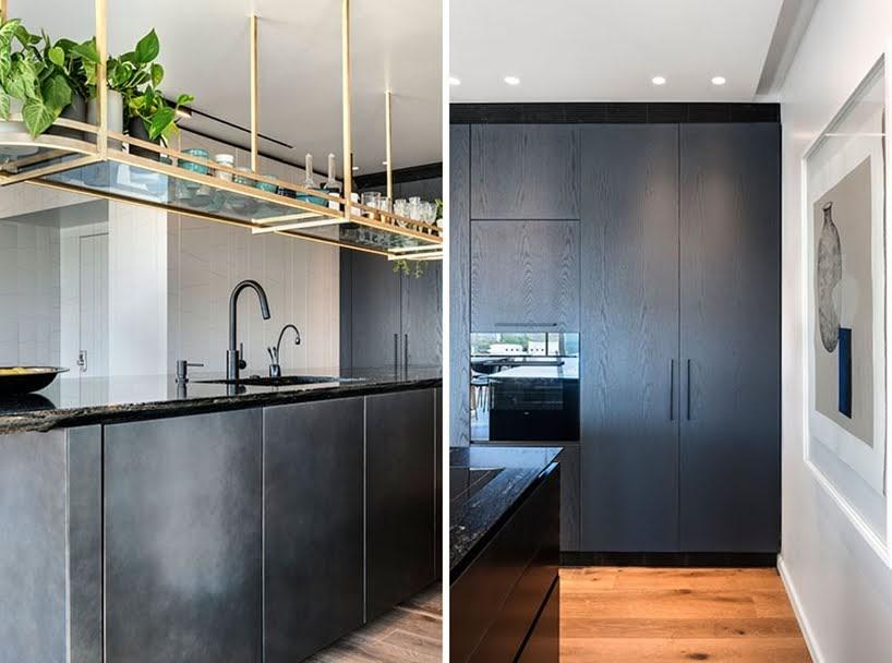 AVIRAM-KUSHMIRSKI ha diseñado los interiores de este Penthouse