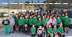 Foto de familia con los participantes del CN Almería.