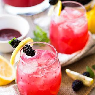 Skinny Blackberry Lemonade