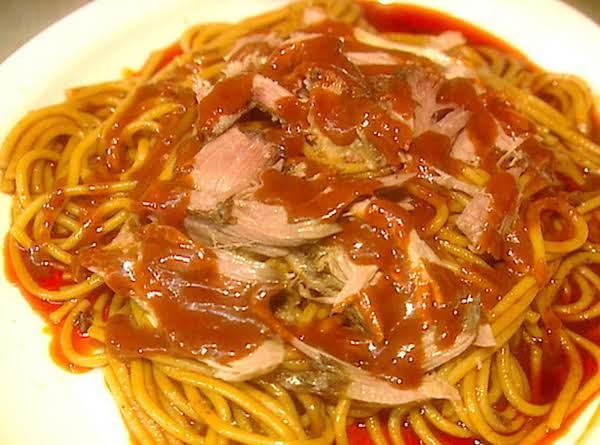 The Neely's Bbq Spaghetti