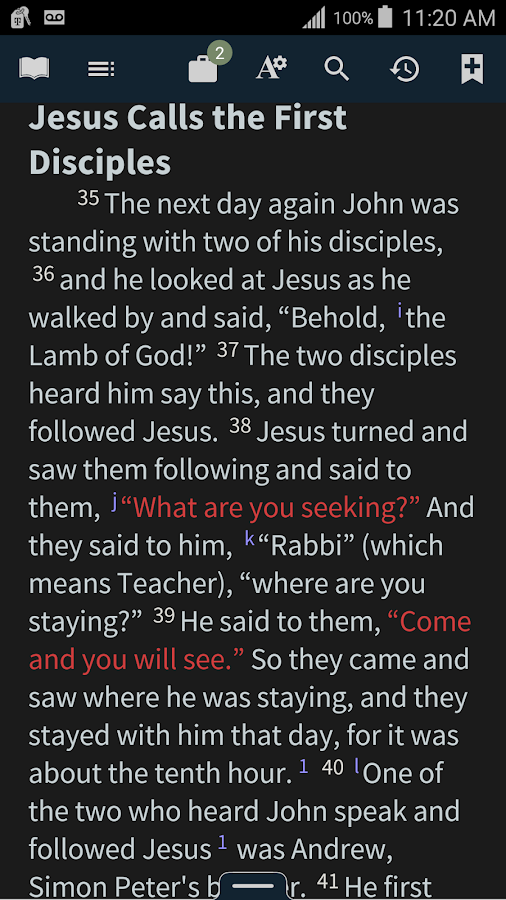 Bible+ by Olive Tree- screenshot