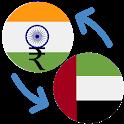 Indian Rupee U.A.E Dirham / INR to AED Converter icon