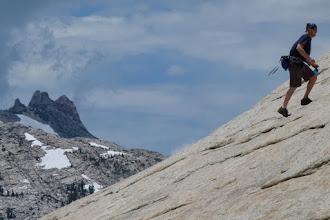 Photo: Climbing Lembert Dome