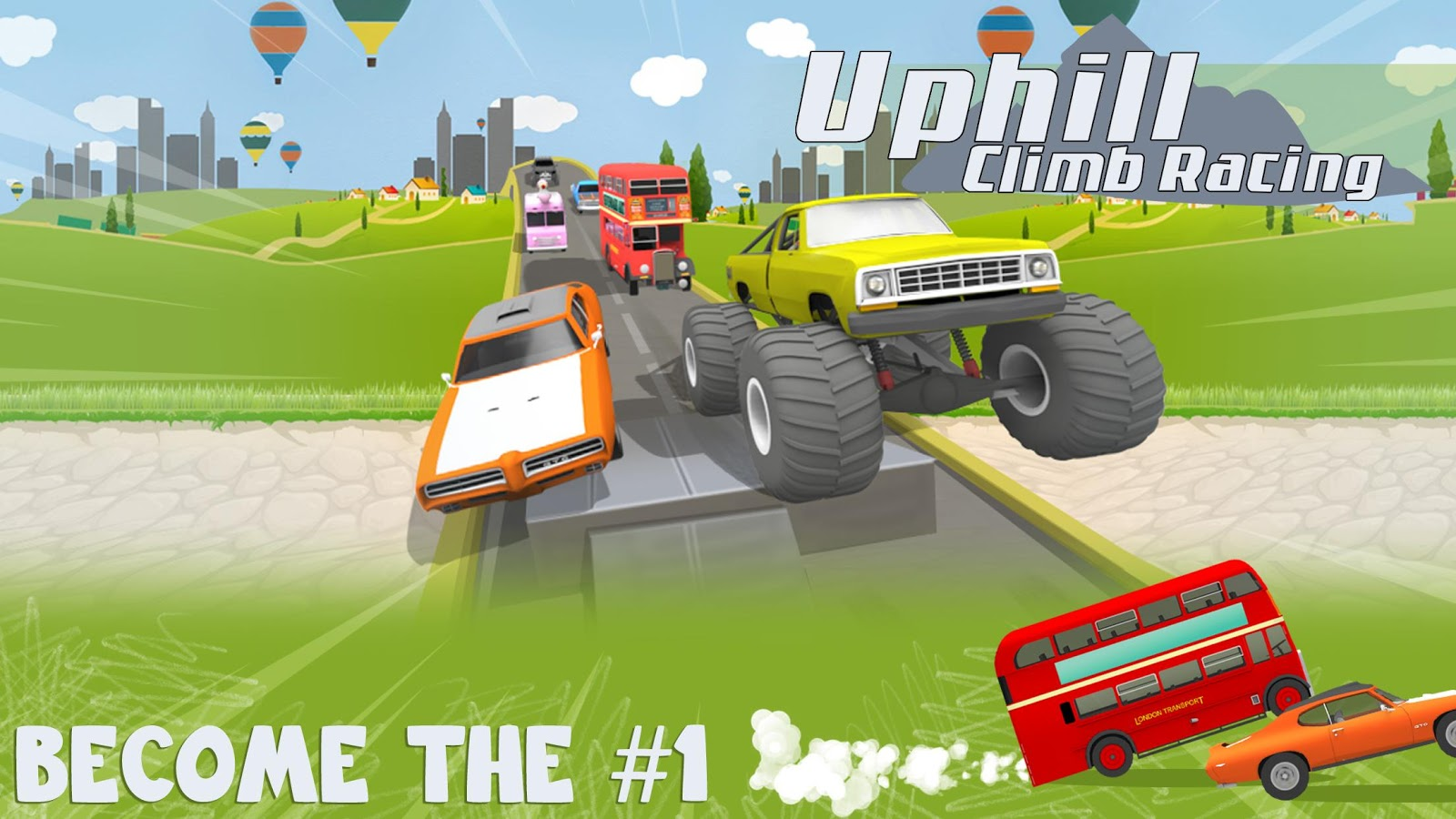 Uphill Climb Racing- screenshot