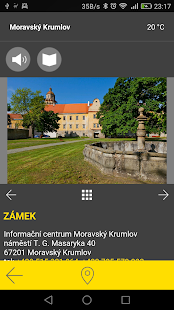 Moravský Krumlov - audio tour- screenshot thumbnail