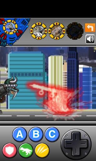 Smilodon Black - Transform! Dino Robot 1.0.0 screenshots 5