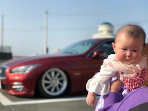 スカイライン HV37 typePのカスタム事例画像 伸弥@赤い車さんの2020年07月09日20:10の投稿
