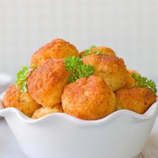 Cheesy Party Rice Balls – Arancini