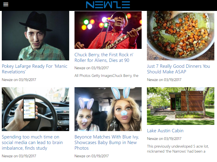 Newze - Magazine Content News- screenshot