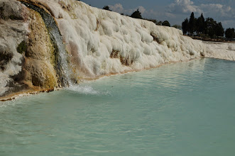 Photo: the mineral heavy water evaporates leaving behind these crazy formations