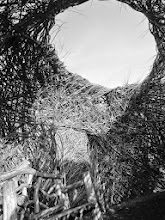 Photo: Dougherty Exhibit of woven wood maze at Wegerzyn Gardens MetroPark in Dayton, Ohio.
