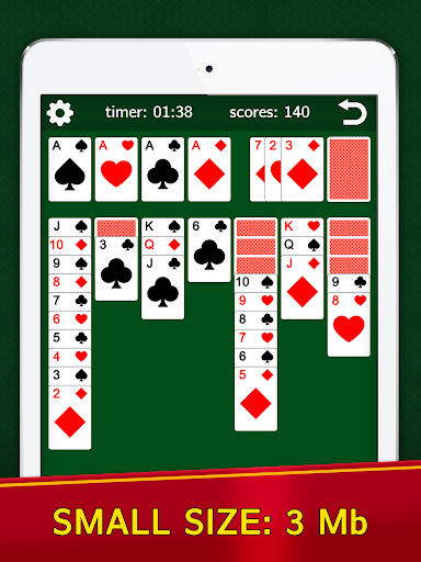Classic Solitaire Klondike - No Ads! Totally Free! Screenshots 6