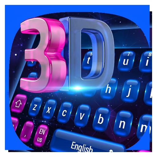 3D Laser tech keyboard